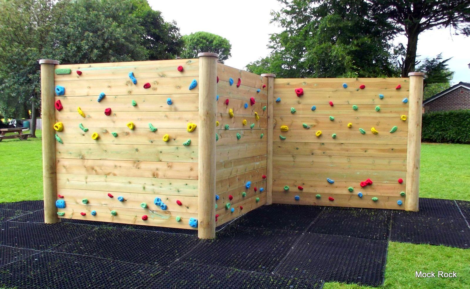 diy outdoor climbing wall custom rock climbing boulders for