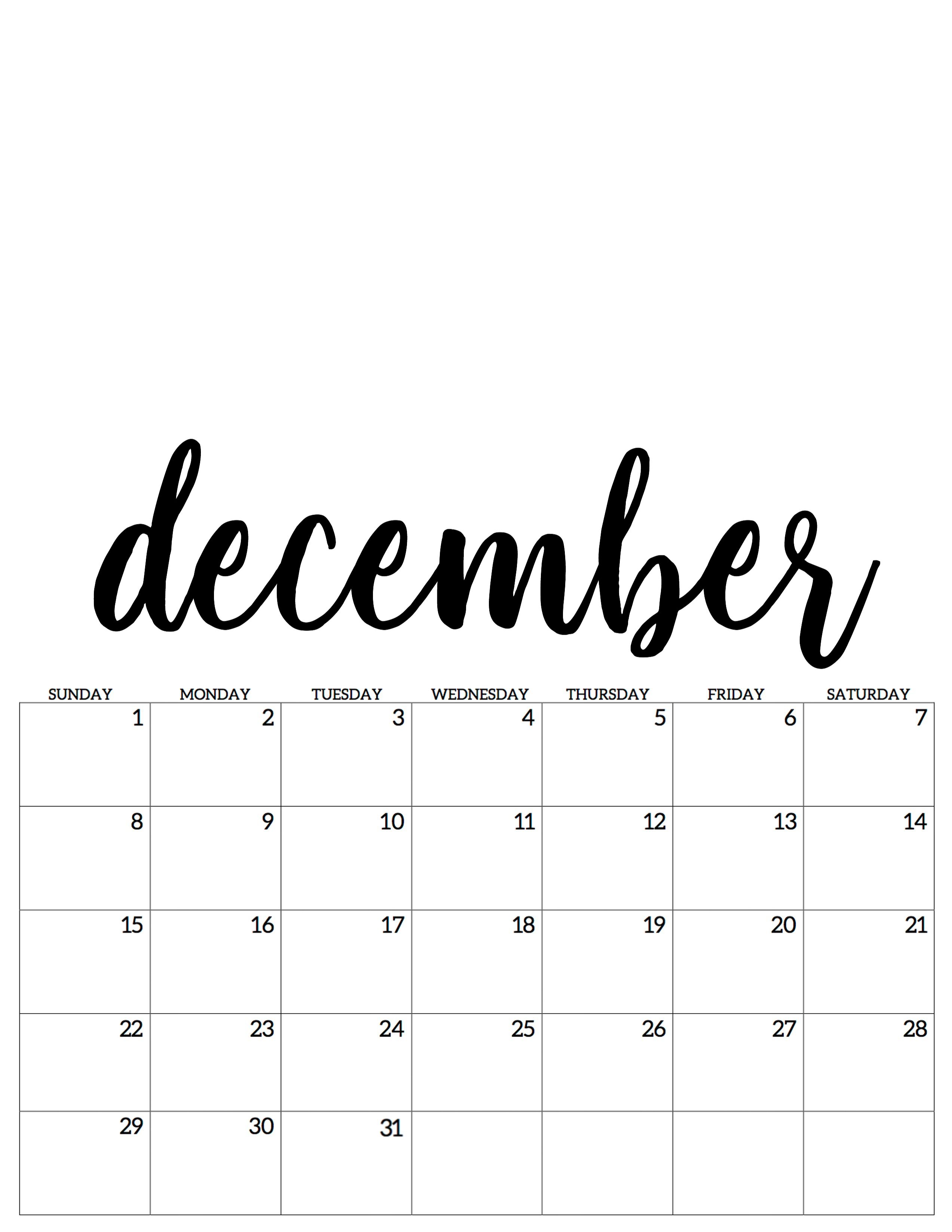 December Dezember Kalender Calendar