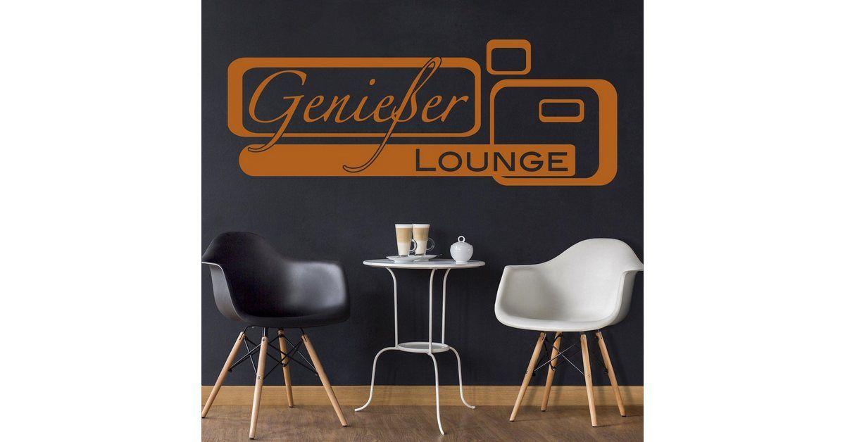 Photo of Bilderwelten Wandtattoo »Genießer-Lounge« kaufen | OTTO