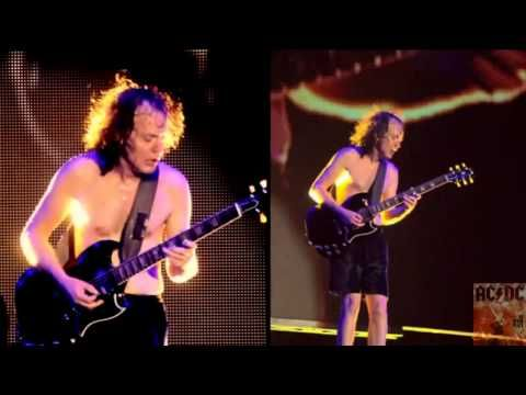 Ac Dc Angus Young Guitar Solo Live At River Plate Hd Youtube