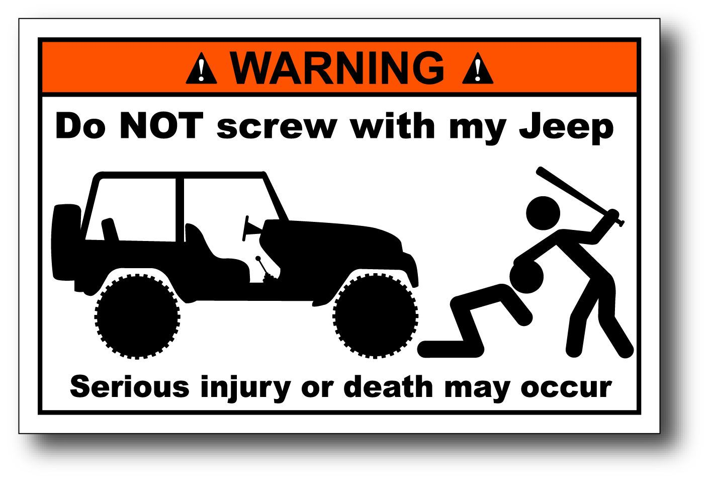 Jeep Girl I Got This Jeep  for my Husband Best Trade Truck Car Stickers Decal