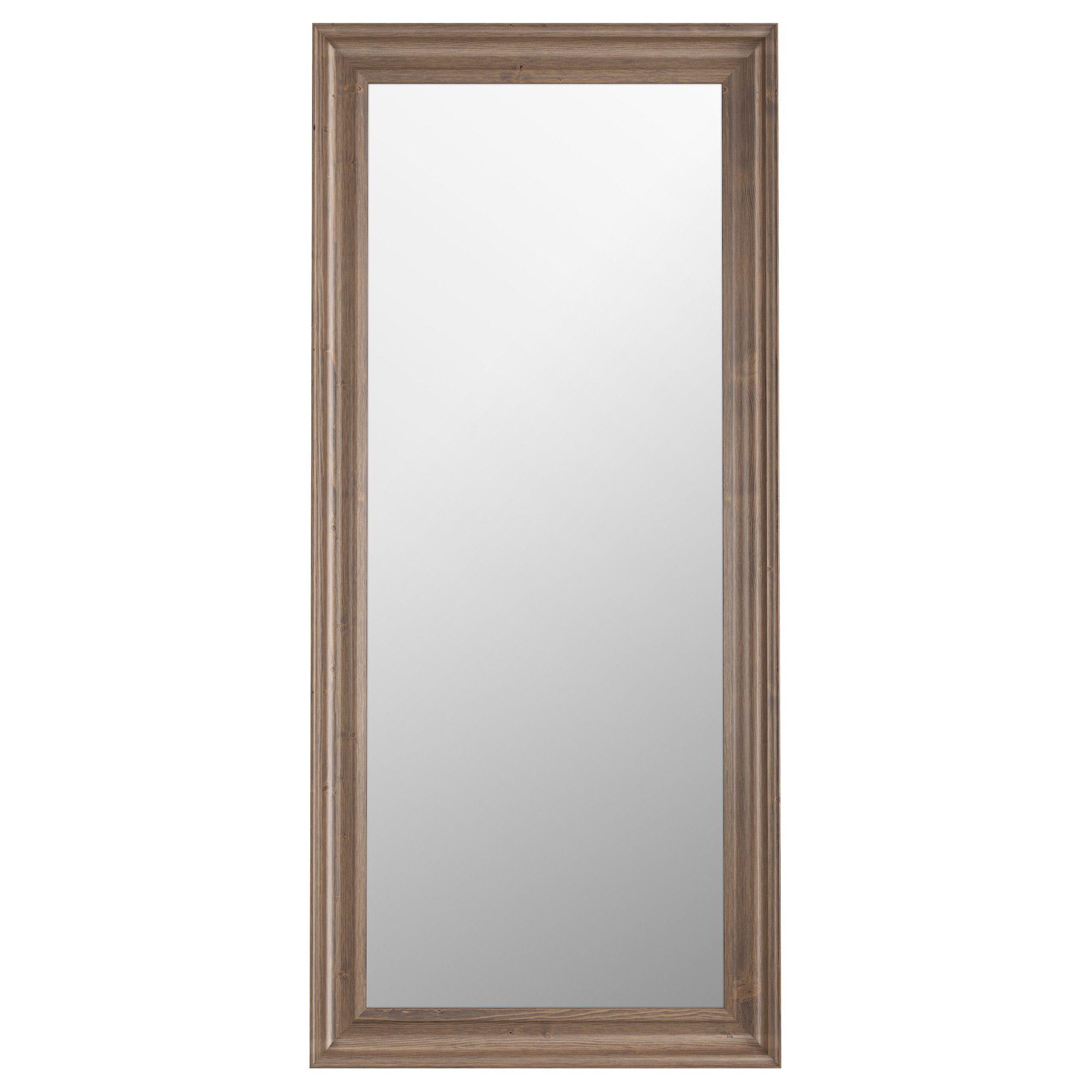 HEMNES Mirror   Gray Brown   IKEA, $44.99   To Be Hung Between Bath And  Closet Doors At Eye Level | 11 Overlook Ridge | Hemnes, Ikea Mirror, Ikea  Hemnes ...
