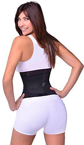 e363c44081e Sbelt Waist Trainer Belt ○ Miss Shaper Cincher ○ HourGlass Xtreme Slim at Amazon  Women s Clothing store