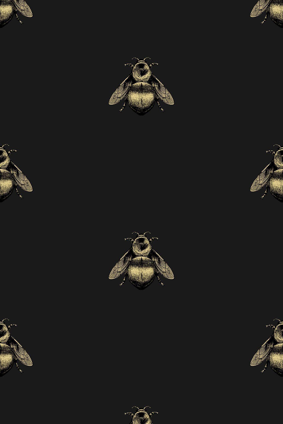 Timorous Beasties Wallcoverings Napoleon Bee Non Woven