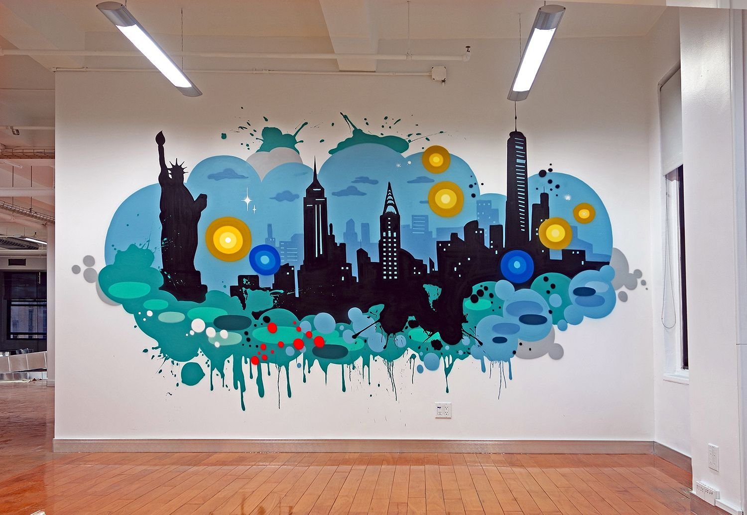 Graffiti office art google search graffiti wall art