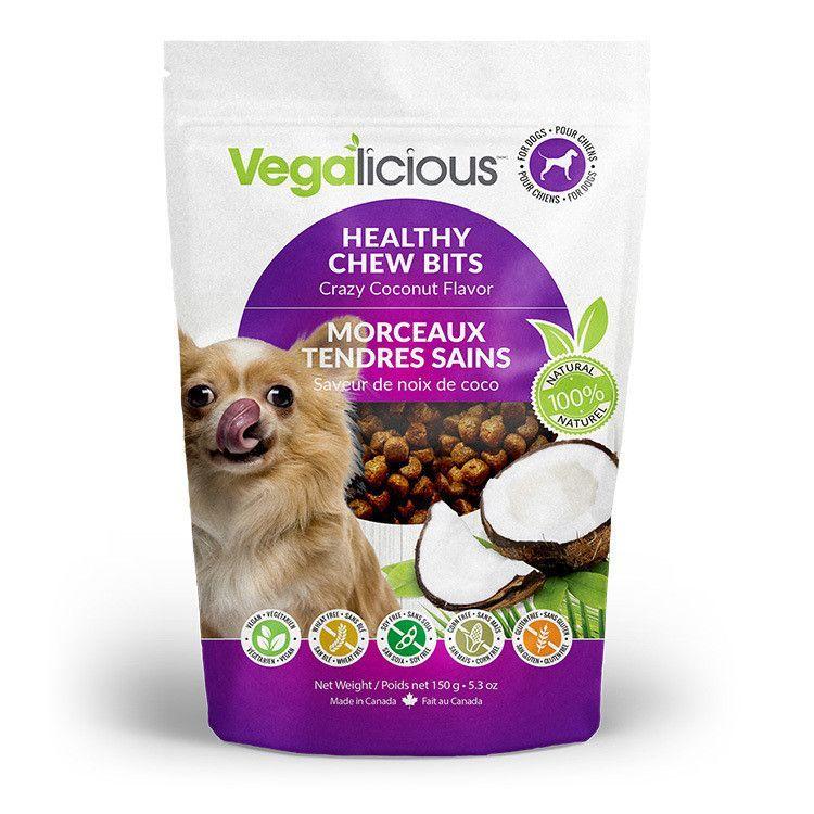 Vegalicious moist healthy dog treats crazy coconut easy dog vegalicious moist healthy dog treats crazy coconut forumfinder Images