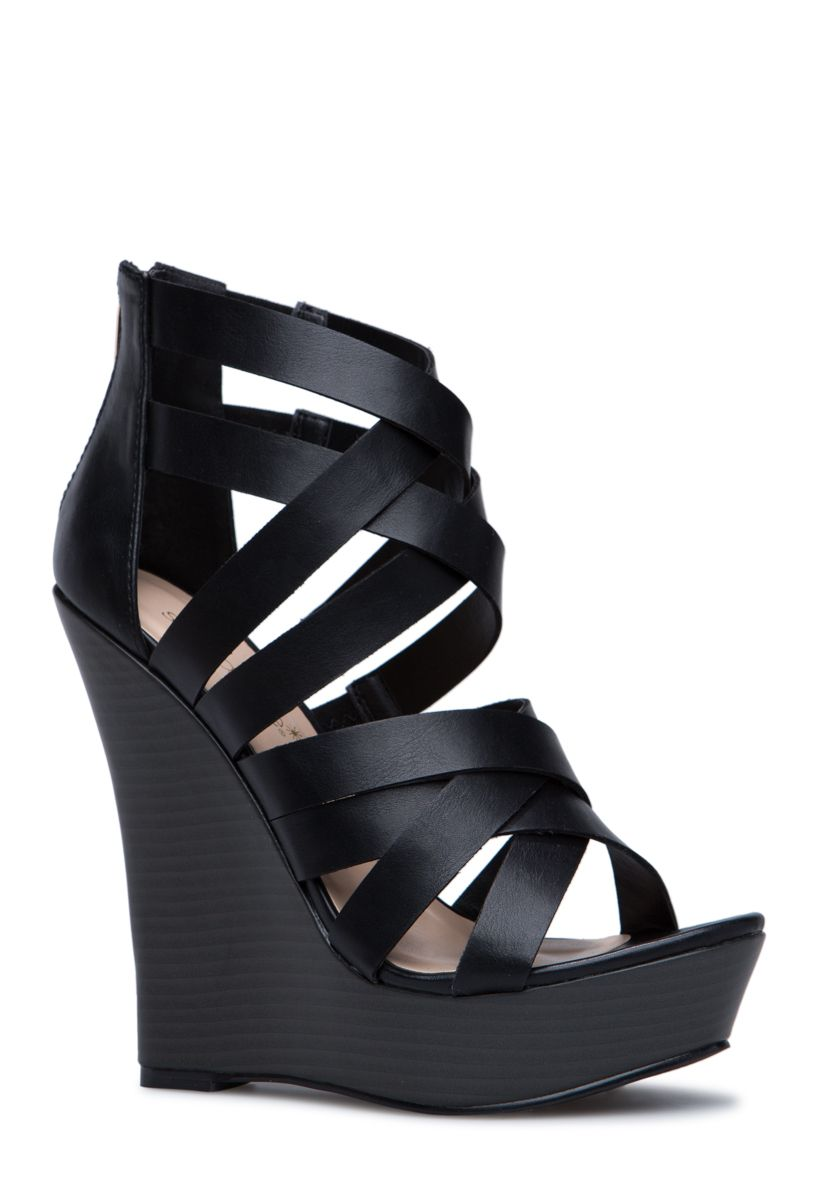 Fashion style How to high wear wedge shoes for woman