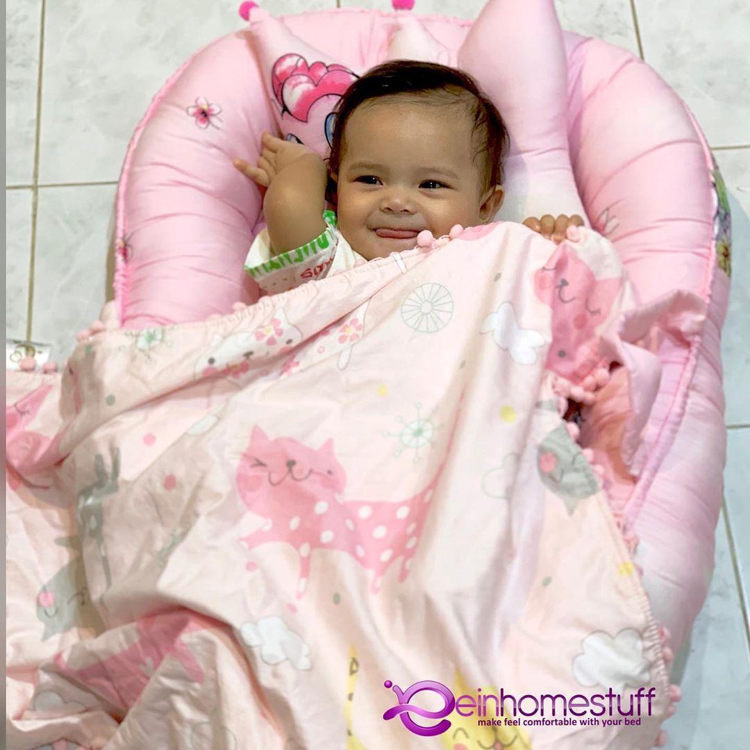 Selimut Dot Minky Hay Mom Selimut perlengkapan bayi yang