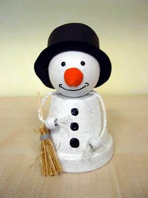 Schneemann creadoo lifestyle dekoration basteln und mehr styroporbasteln pinterest - Kindergarten weihnachtsbasteln ...