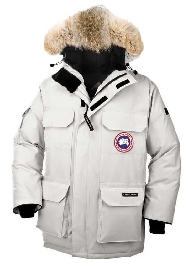 canada goose jacket light grey