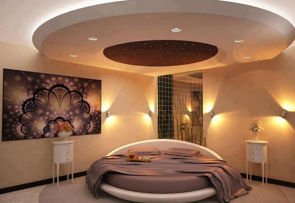 Camera da letto_ Con letto rotondo | Style in 2019 | Luxury ...