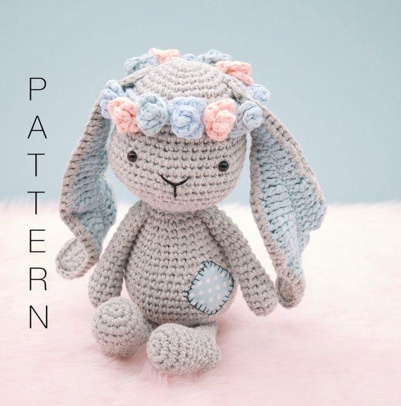 Amigurumi crochet sweet bunny rabbit pattern - Matilda the Bunny ...