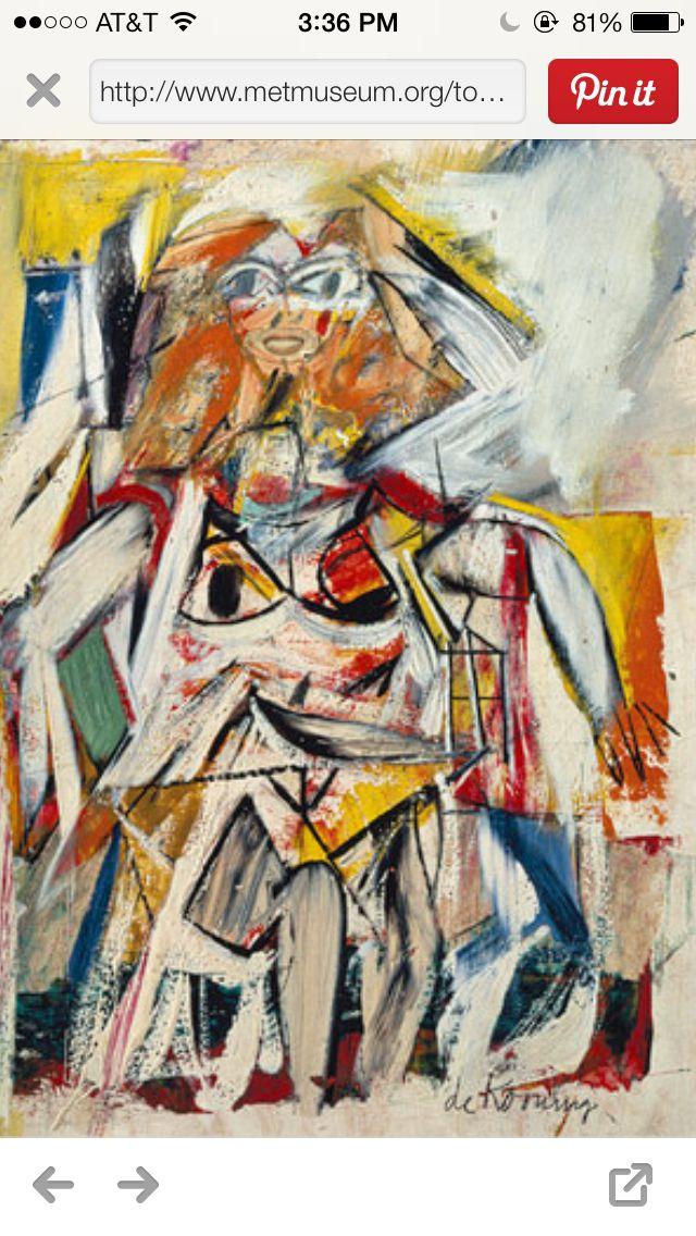 De Kooning Art History Art Painting
