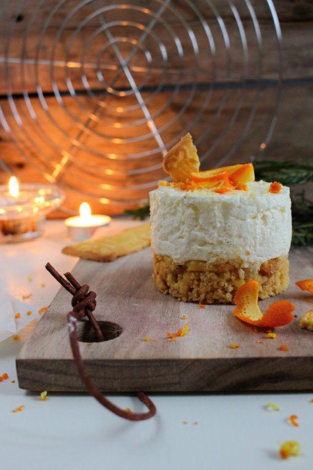 Winterkracher deluxe: Spekulatius-Törtchen mit Orangencreme #kokosmakronenrezept