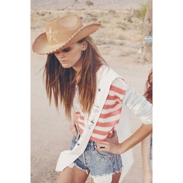 Wildfox Couture Born on the 4th of July Cropped Sweater in Hazy Blue ($229) ❤ liked on Polyvore