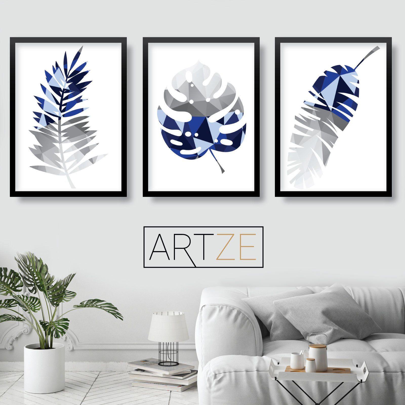 Park Art My WordPress Blog_Blue And Grey Wall Art Uk