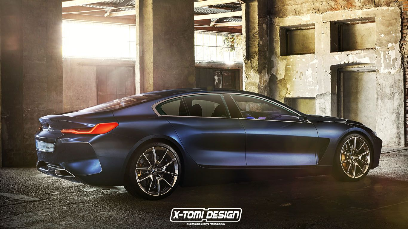 Rendering 2019 Bmw 8 Series Gran Coupe Is A Stylish Proposition