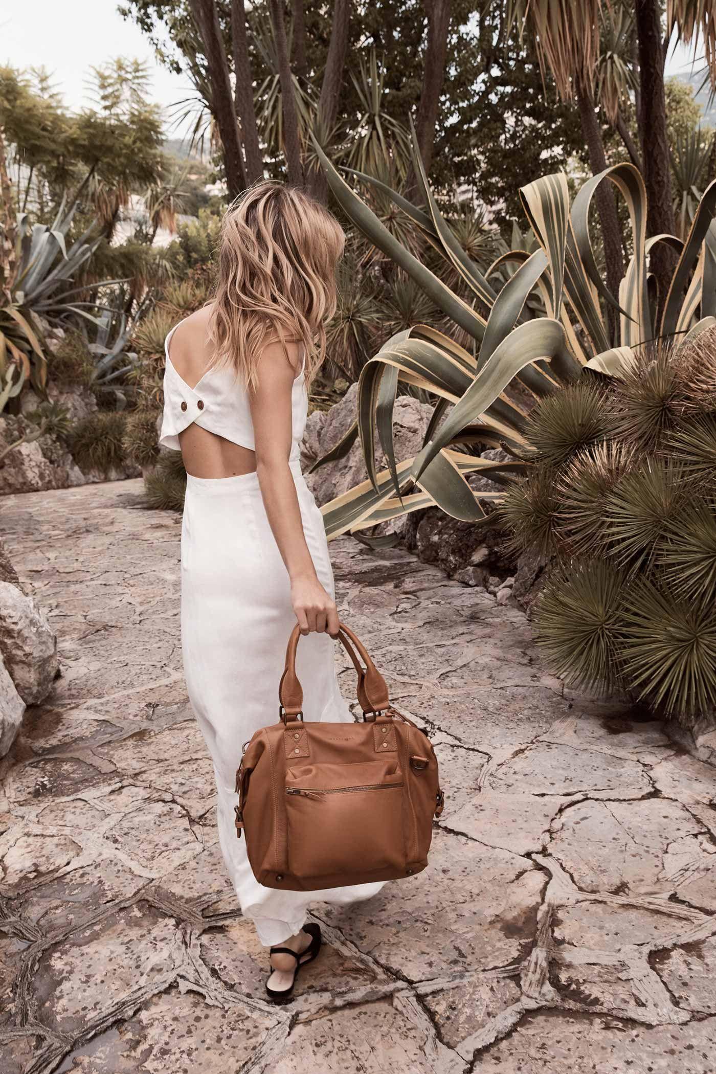 f0481087f31c7 The Praiano Handbag in Tan, by Wanderers Travel Co.  wandererstravelco.com/products/the-praiano-handbag