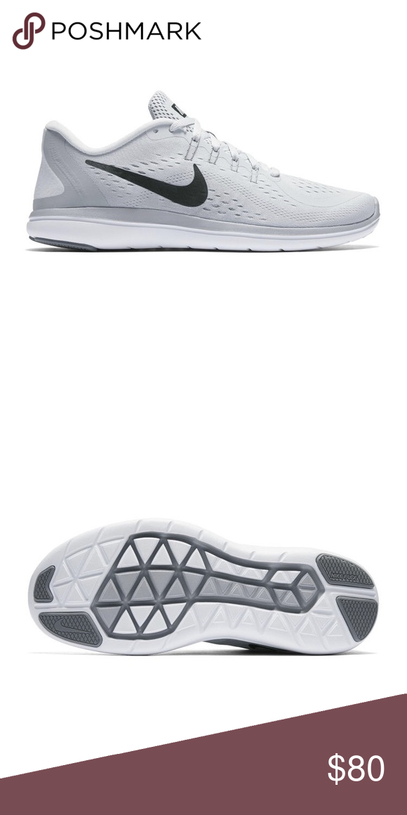 Nike Flex 2017 RN in Grey ✨NEW WITH TAGS✨ The Nike Flex 2017 RN Women s  Running Shoe helps keep you light on your feet from start to finish with an  ... 052b919b48e
