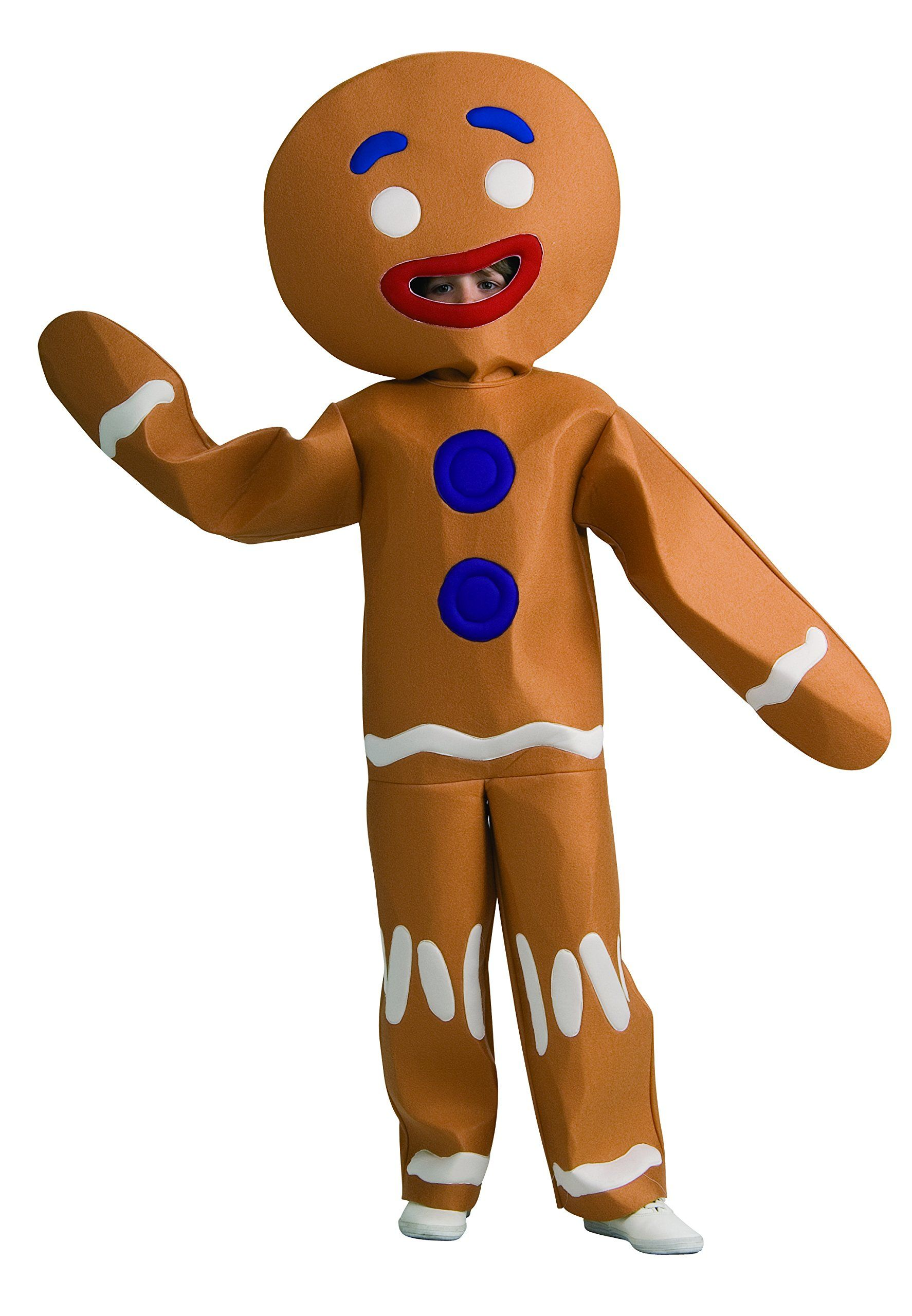 Shrek Gingy Gingerbread Man Deluxe Adult Costume Mens