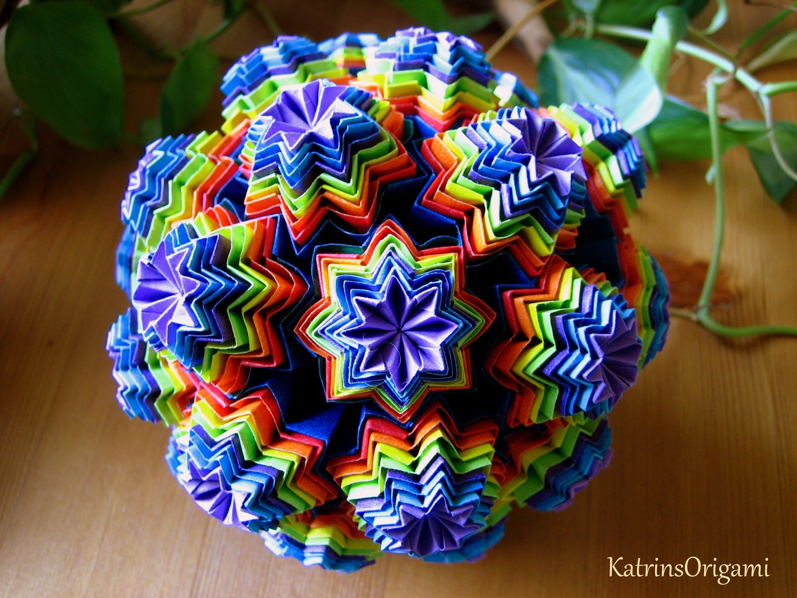 483 best origami kusudama images on pinterest origami paper and origami maniacs venus kusudama includes a video dhlflorist Image collections