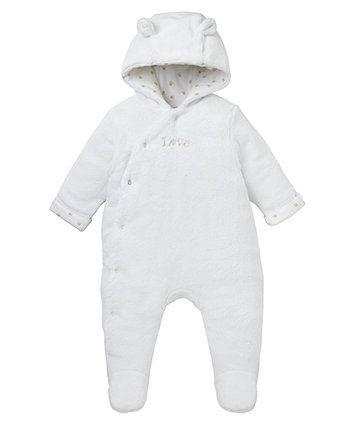 714b4965bdda Fluffy Love Pramsuit - pramsuits   snowsuits - Mothercare