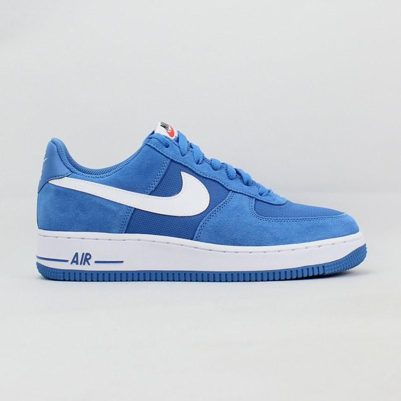Tênis Nike Air Force 1 Azul | Nike air shoes, Nike air force