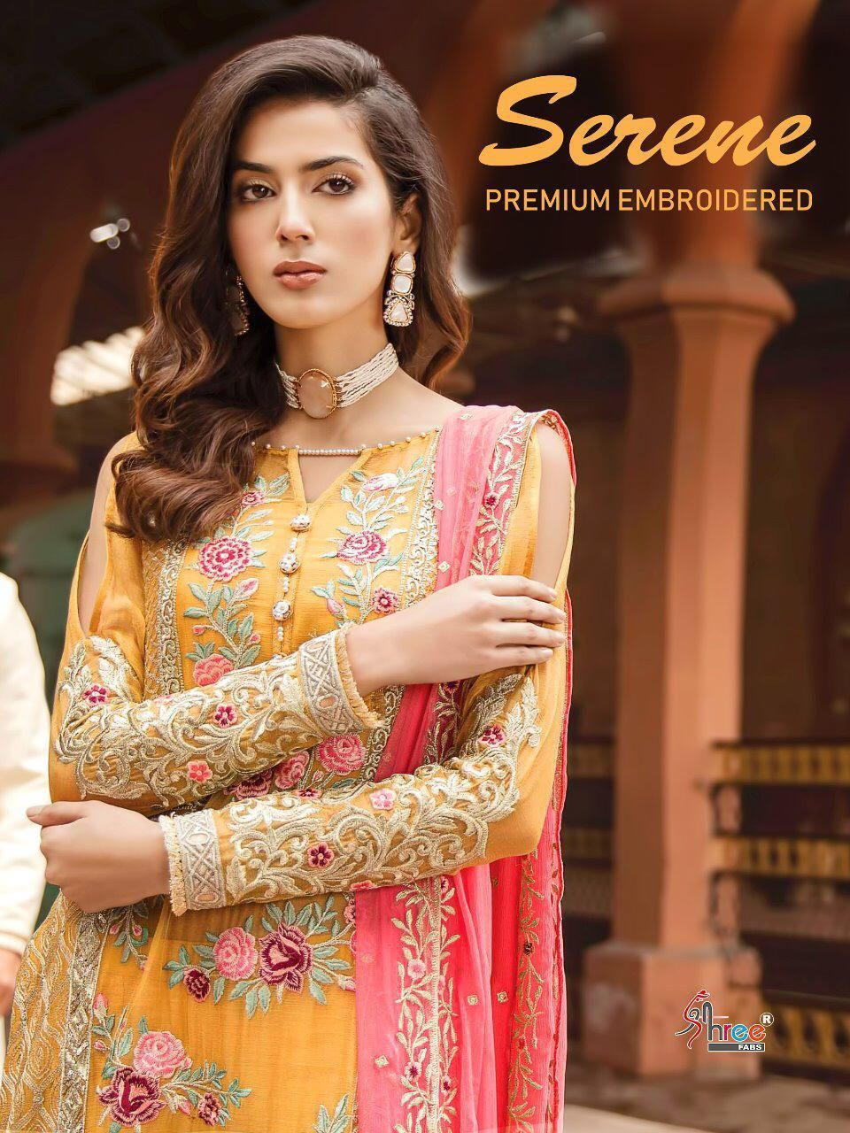 7e5edf4c14 Shree fabs Serene premium embroidered Pakistani salwaar suit catalogue  wholesale price surat at Wholesale Price. INR 7494 pcs 6.