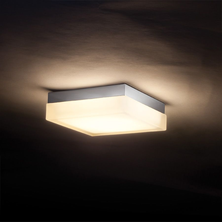 E Dice Square Ceiling Wall Lamp By W A C Lighting Wac Fm 4006 Ch Ceiling Lights Modern Ceiling Light Ceiling Light Design