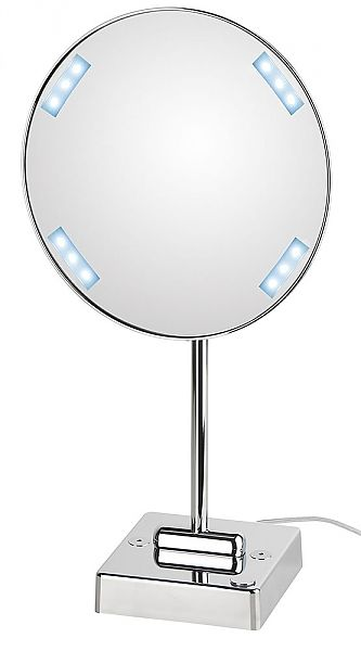 Koh I Noor Discolo Led Lighted 3x Vanity Makeup Mirror