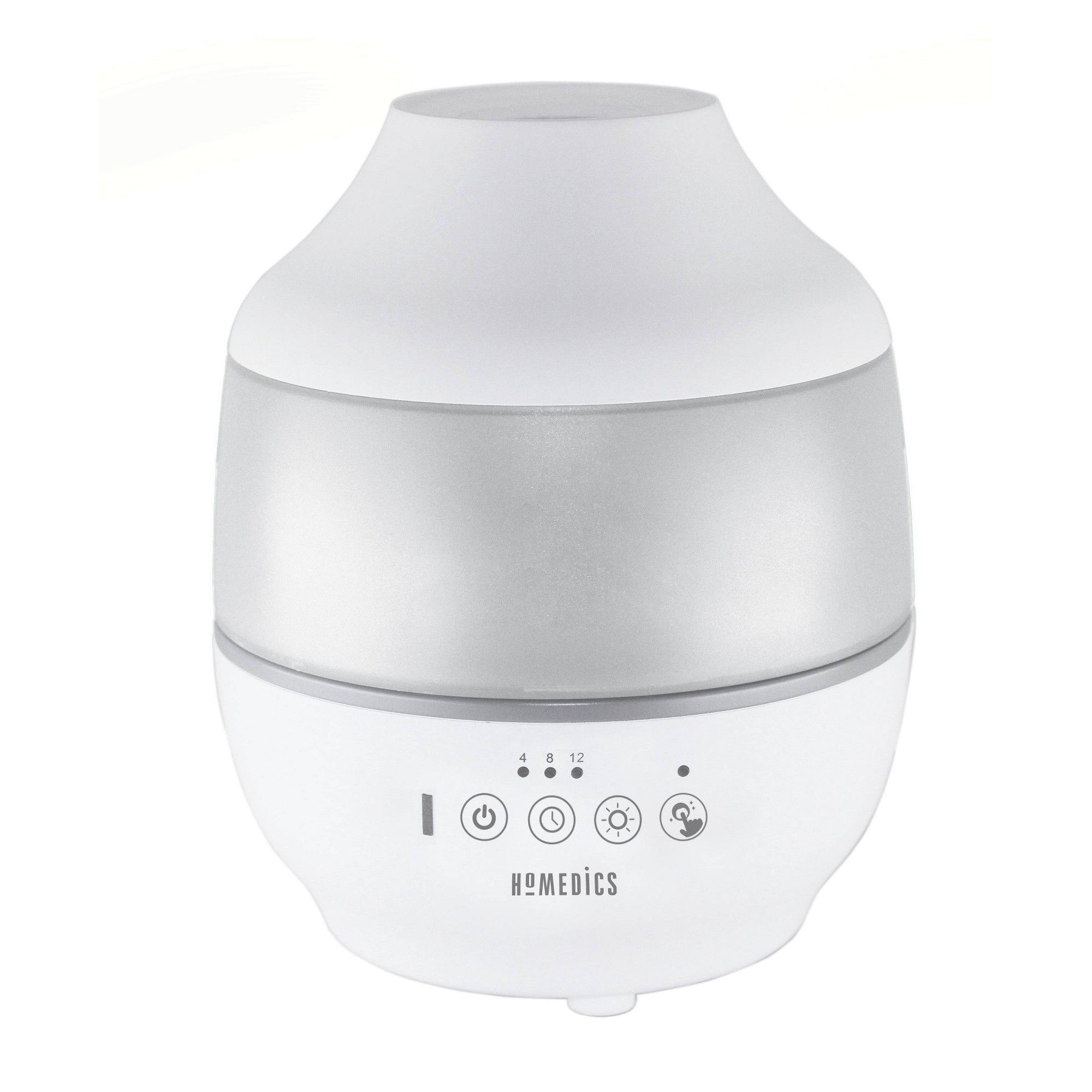0.5gal Cool Mist Ultrasonic Humidifier with Aroma White