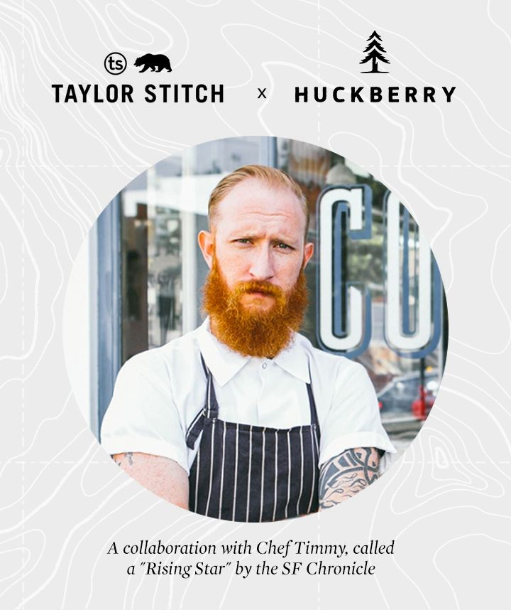 Ever want to wear what the chefs wear? Take a look at the collaboration between a star chef and huckberry.com. The perfect gift for the special 'chef' on your list!!! #eatyourveggis #huckberry