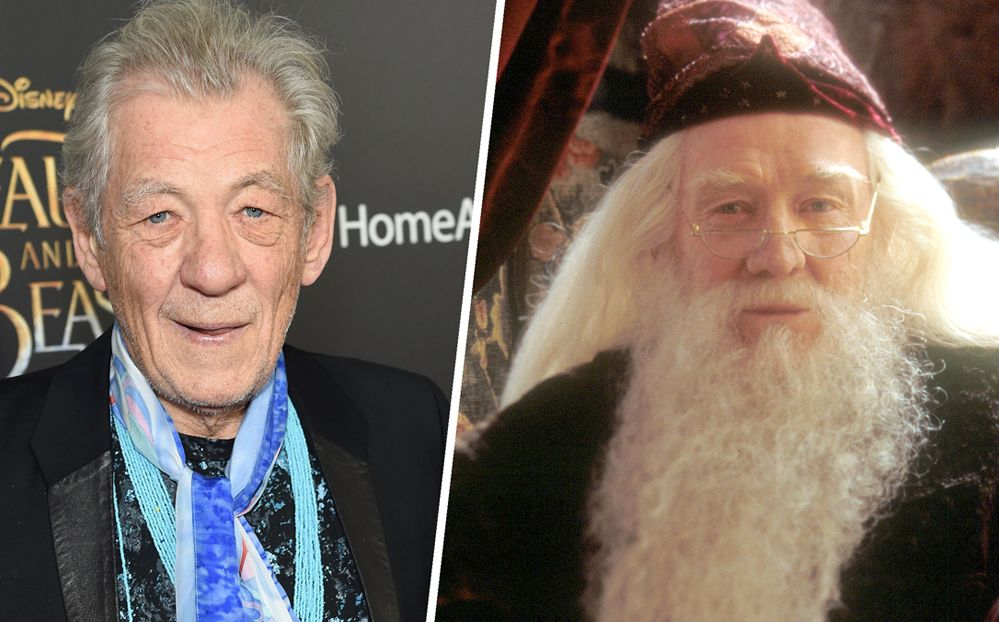 Ian Mckellen Gets Mistaken For Dumbledore Movies Ian Mckellen Hollywood