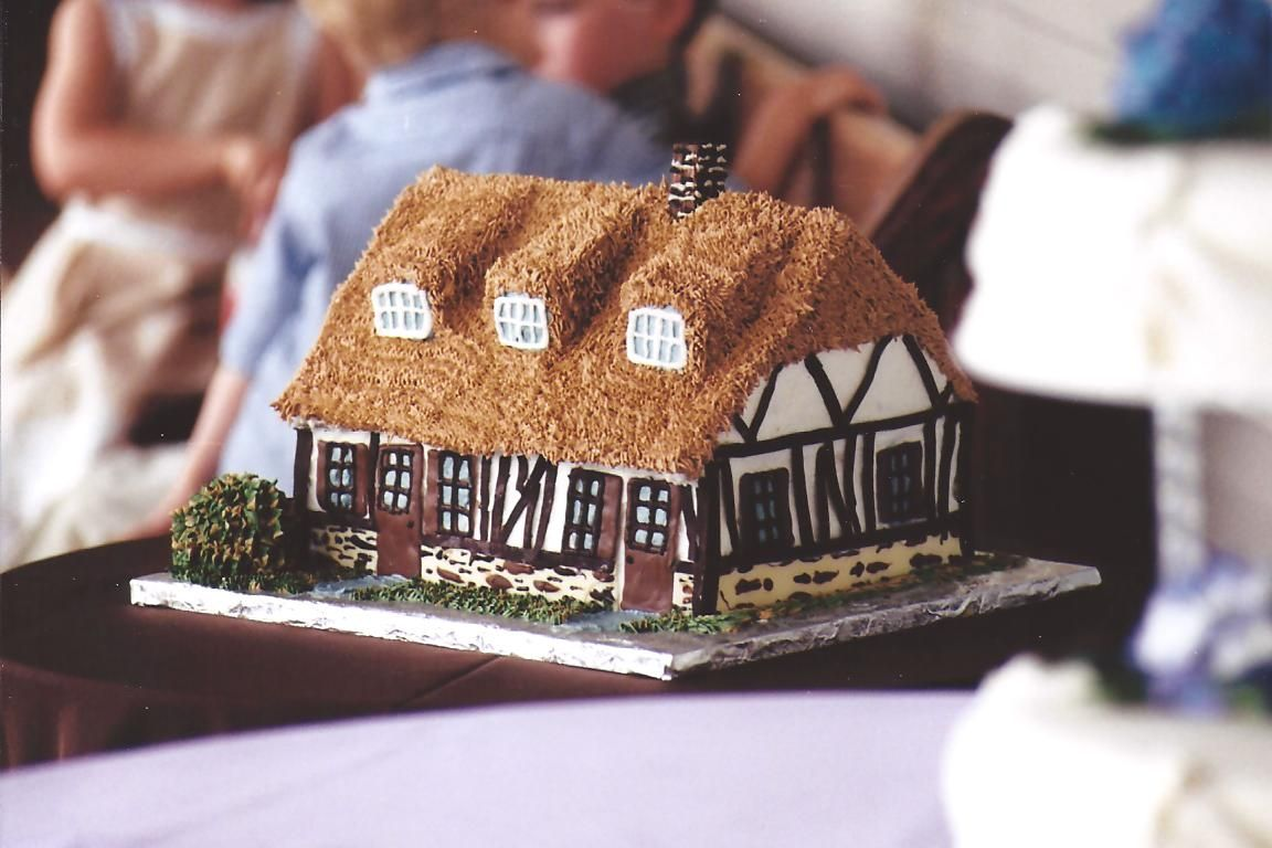 French county house groom's cake