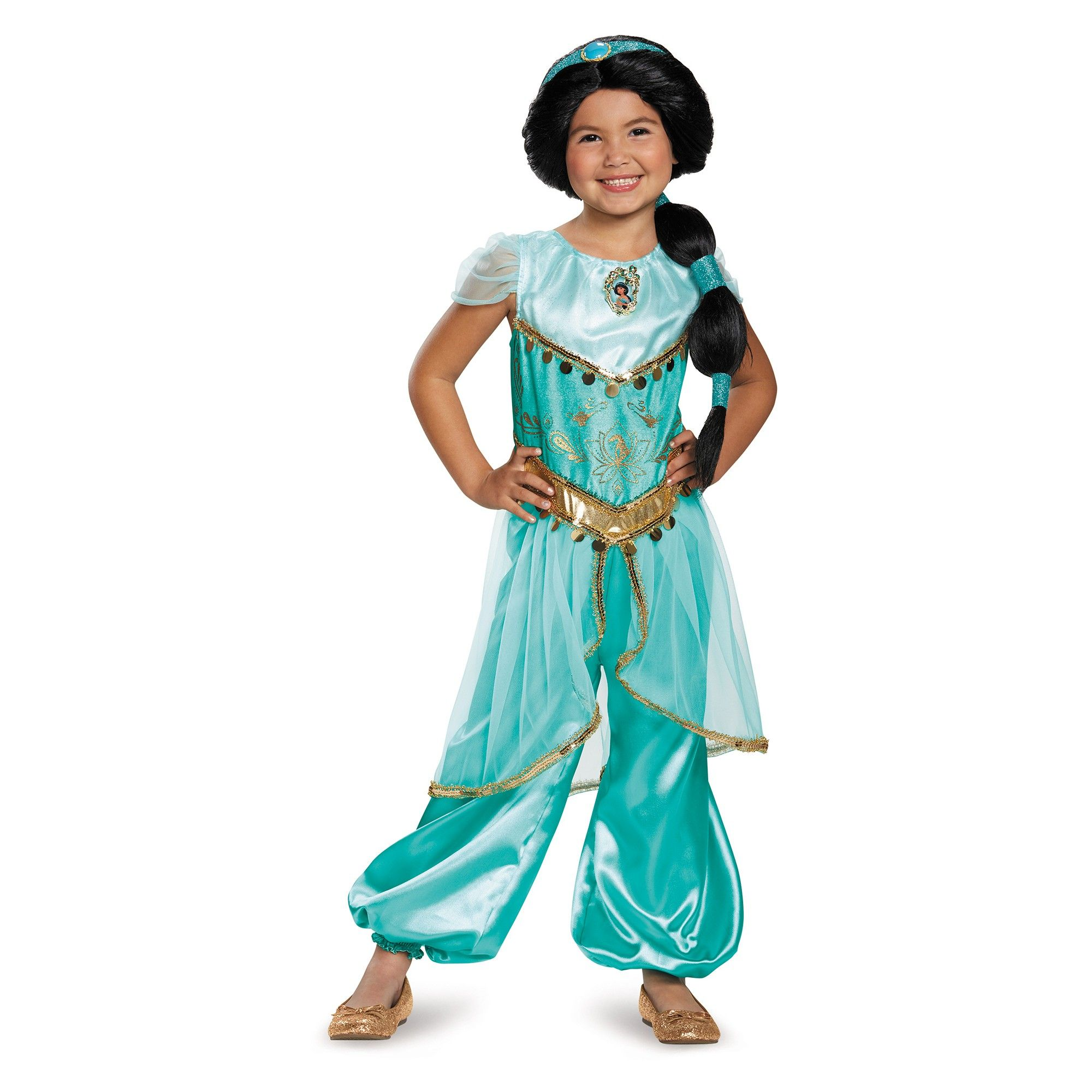 Girls Classic Elena Ball Gown Disney Costume