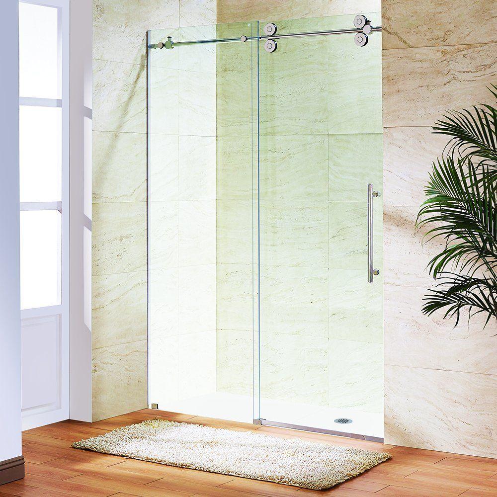 Vigo Vg6041chcl6074 Elan 56 To 60 In Frameless Sliding Shower