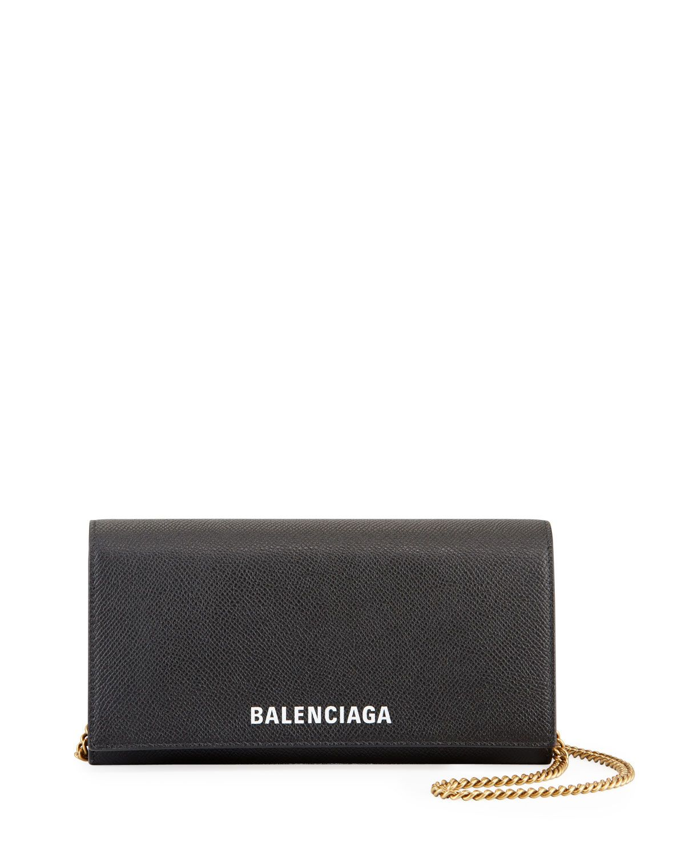 Ville Continental Wallet On Chain Balenciaga Wallet Wallet Balenciaga