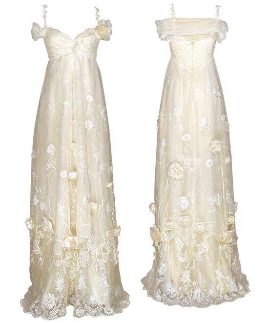 Claire Pettibone Couture Bridal ~ Vintage Meets Modern… | Kleid für ...