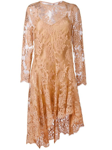 Zimmermann асимметричное кружевное платье