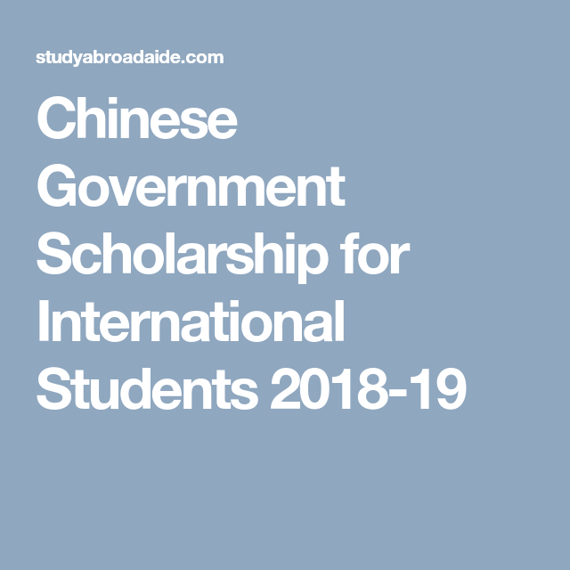 065b5c79007265c1feaf93699eb2918b Chinese Scholarship Application Form For Internanational Student on