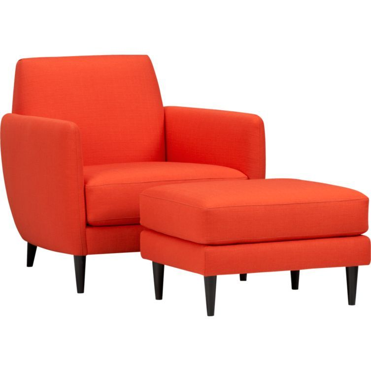 Best Cb2 Orange Chair Orange Chair Furniture Parlor Chair 640 x 480