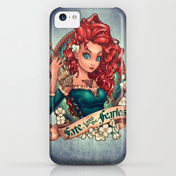 Fate Loves The Fearless iPhone & iPod Case