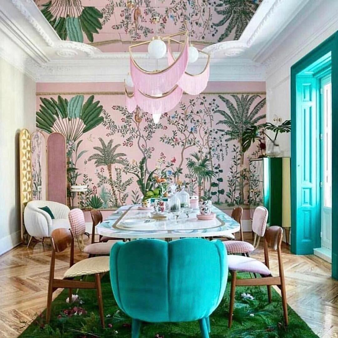 Semicircular Ktv Room Interior Design: A Wonderful Start To A Colorful Week! // Desig