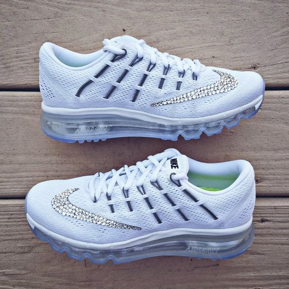 Nike Air Max 2016 with Swarovski Crystal Bling by TheFrostShoppe ... 16490a5a3