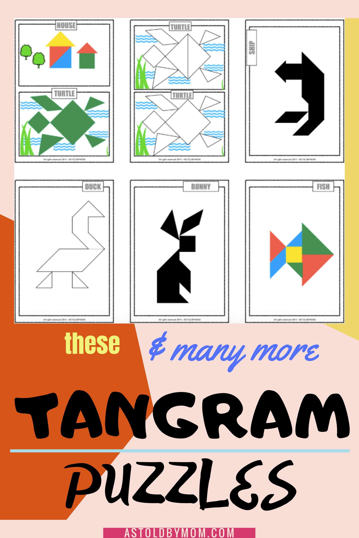 medium resolution of Tangram Worksheets Kindergarten   Printable Worksheets and Activities for  Teachers