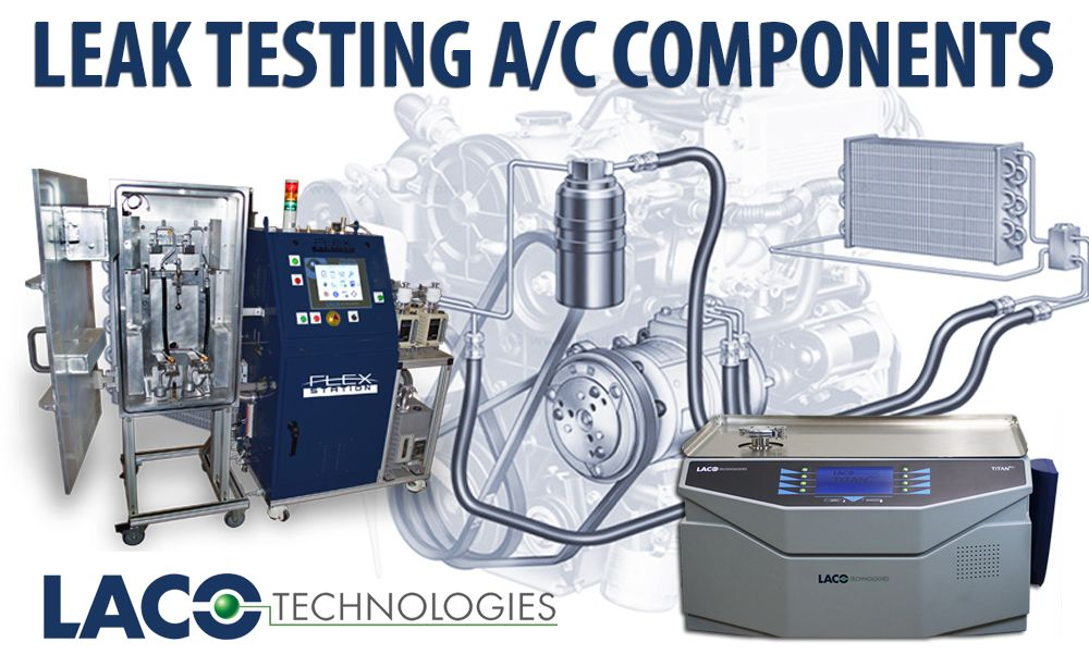 A/C components and complete A/C systems in automotive applications