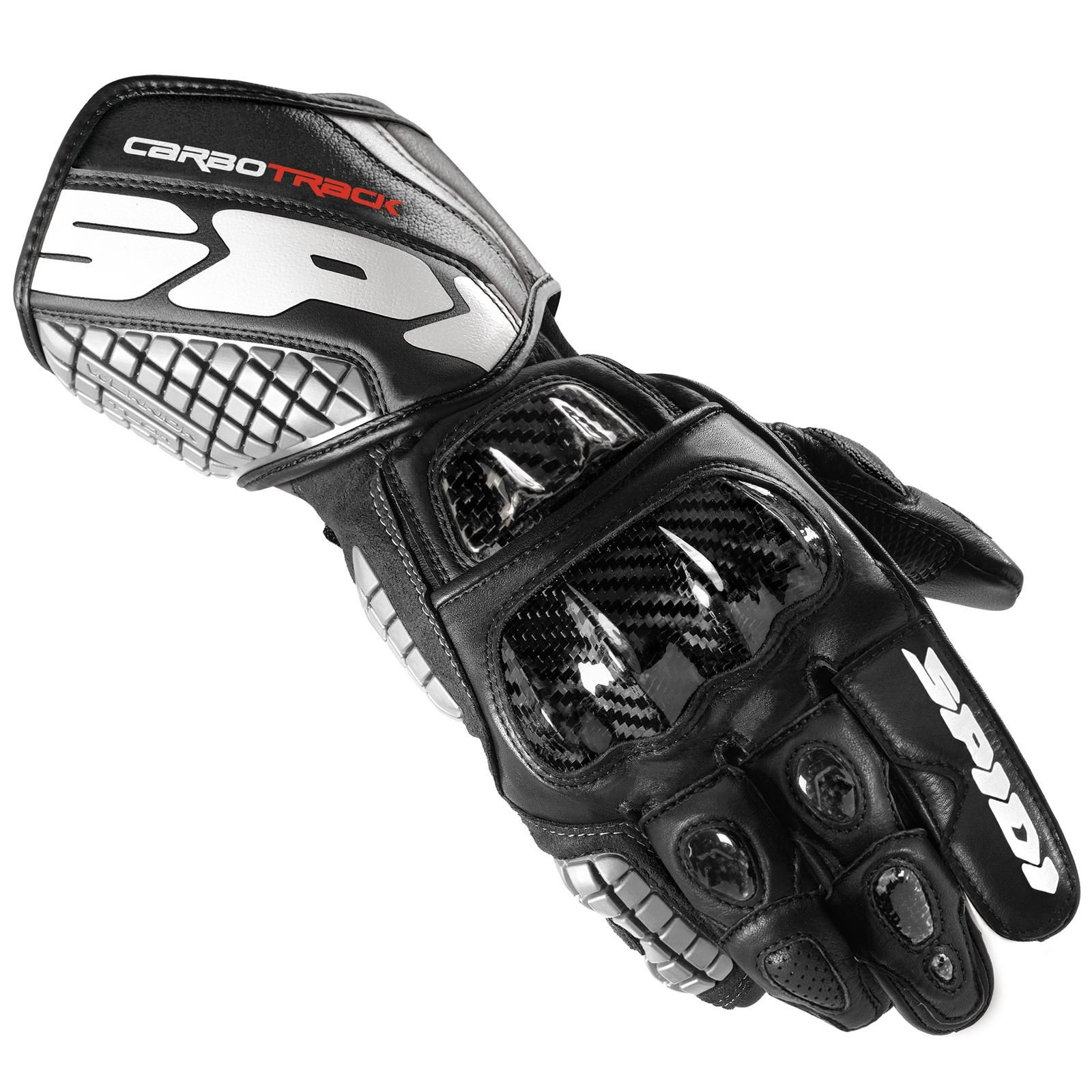 Black gloves races - Spidi Carbo Track Racing Glove Available In Black Color At Http Www