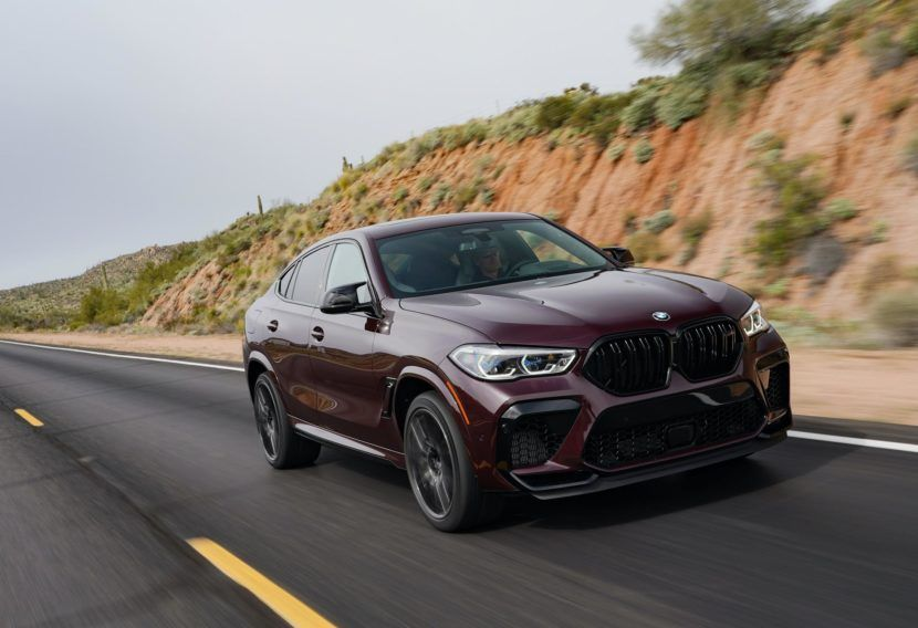2020 Bmw X6 M In Ametrine Metallic A Stunning Color Choice In 2020 Bmw X6 Bmw Bmw Suv