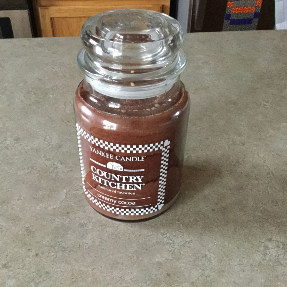 Yankee Candle Country Kitchen Yankee Candle Country Kitchen Creamy Cocoa 22 Oz New
