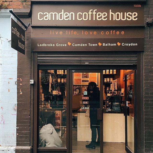 Cute Coffee Shop Corner Live Life Love Coffee